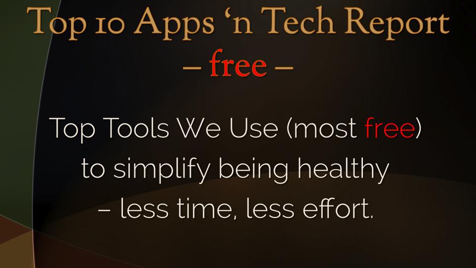 Top 10 Apps 'n Tech Report Panel